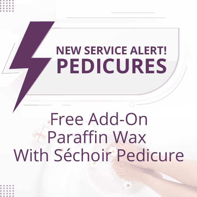 New Service Alert pedicures